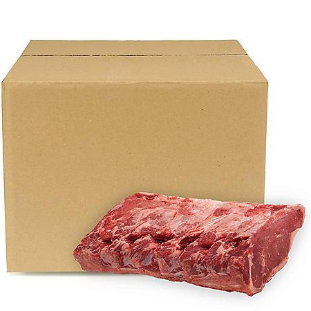 USDA Prime Whole Strip Loin, Bulk Wholesale Case (piece count varies by case, priced per pound)