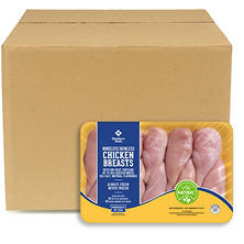 Case Sale: Tyson Boneless Skinless Chicken Breasts  (38-65 lb.)