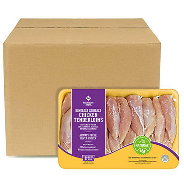 Case Sale: Member's Mark Boneless Skinless Tenderloins (8 pkgs., priced per pound)