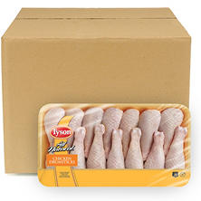 Case Sale: Tyson Chicken Drumsticks (14 pc./6 pk., Priced Per Pound)