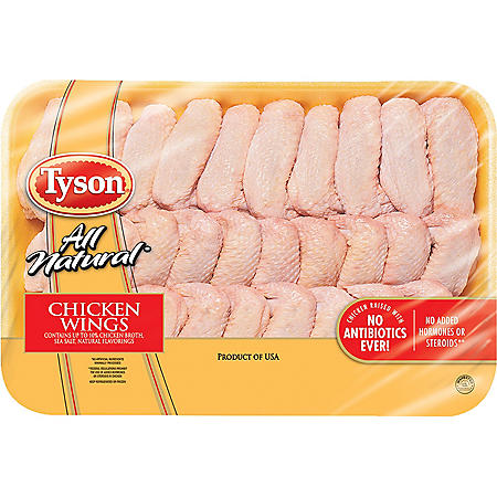 Tyson Whole Chicken Wings (priced per pound)