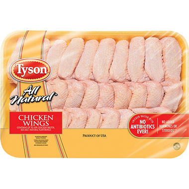Tyson Whole Wings (Priced Per Pound)