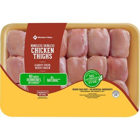 Tyson Boneless Skinless Chicken Thighs (priced per pound)
