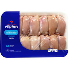Pilgrim's Boneless Skinless Chicken Thighs (Priced Per Pound)