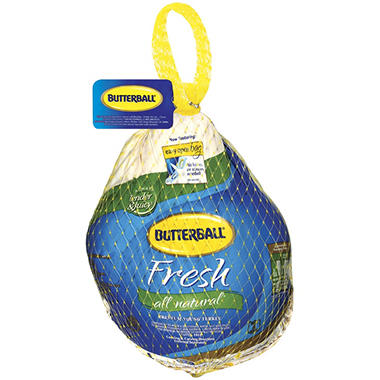 Butterball Fresh All Natural Hen Turkey (approx. 10-16 lbs., Priced Per Pound)
