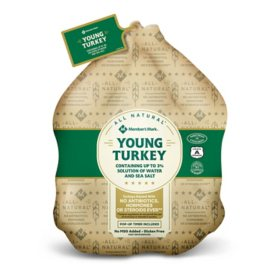 Member's Mark Fresh Whole Turkey, ABF (priced per pound)
