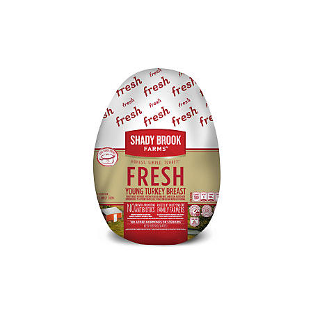 Shady Brook Farms Fresh Bone-in Turkey Breast (priced per pound)