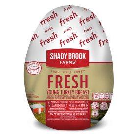 Shady Brook Farms Fresh Bone-in Turkey Breast (priced per pound)