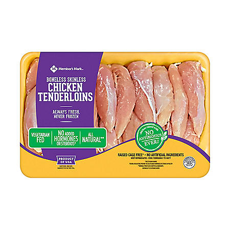 Member's Mark Chicken Tenderloins, Fresh (priced per pound)
