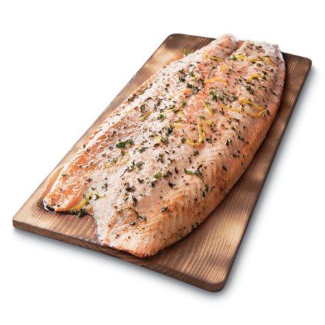 Salmon Fillets, Boneless Skinless (Priced Per Pound)