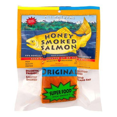 Honey Smoked Salmon, Original Flavor (priced per pound)