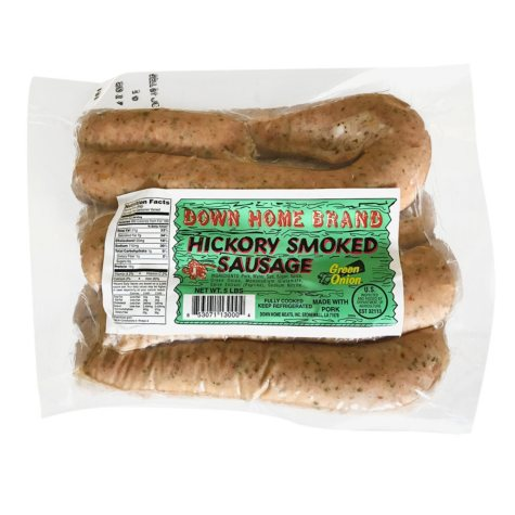 Down Home Hickory Green Onion Smoked Sausage (5 lbs.)