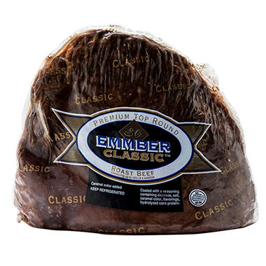 Emmber Classic Premium Top Round Roast Beef (priced per pound)