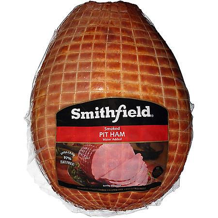 Smithfield Smoked Pit Ham (Priced Per Pound)