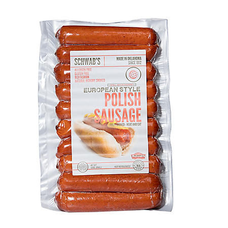 Schwab's European Polish Sausage (2 lbs.)