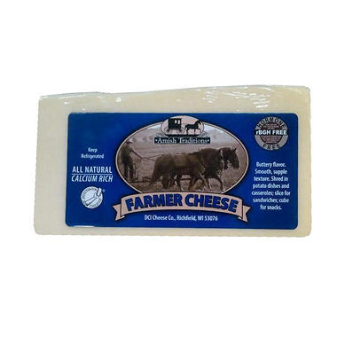 Amish Traditions Farmer Cheese (Priced Per Pound)
