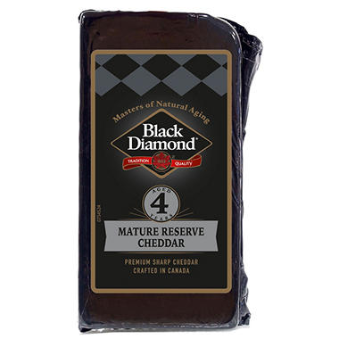 Black Diamond Private Reserve Cheddar Cheese (Priced Per Pound)