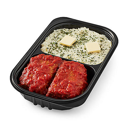 Homestyle Meatloaf with Whipped Potatoes (priced per pound)