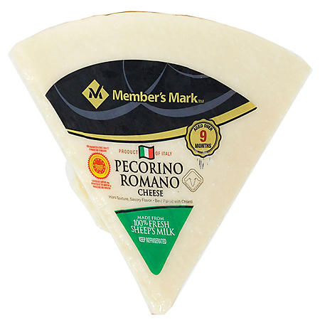 Member's Mark Pecorino Romano Cheese Wedge by Argitoni (priced per pound)