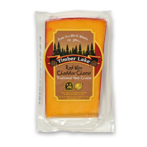 Timberlake Red Wax Hoop Cheddar (priced per pound)