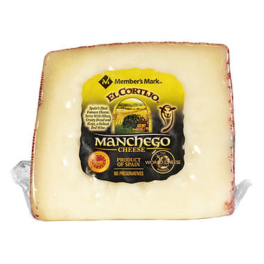 El Cortijo Manchego Wedge Cheese (Priced Per Pound)