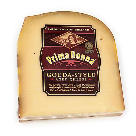 Prima Donna Gouda-Style Aged Cheese (Priced Per Pound)