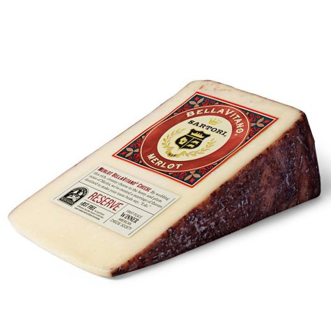 BellaVitano Merlot Cheese Wedge (priced per pound)