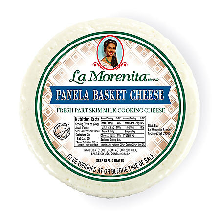 La Morenita Queso Panela Basket (priced per pound)