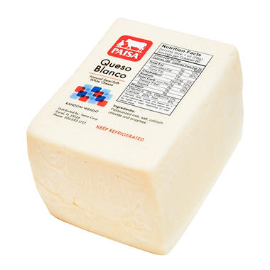 Queso Blanco Paisa (Price Per Pound)