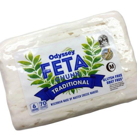 Odyssey Feta Chunk Cheese (priced per pound)