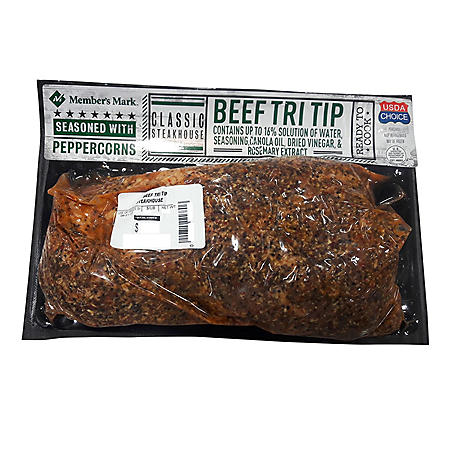 Member's Mark Classic Steakhouse Beef Tri-Tip (priced per pound)