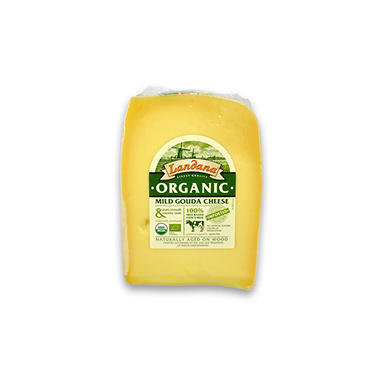 Landana Organic Gouda Cheese (priced per pound)