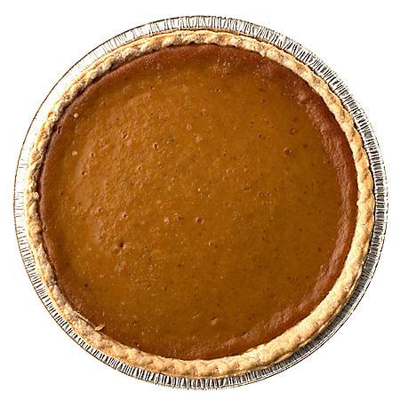"Member's Mark 12"" Pumpkin Pie (60 oz., 1 ct.)"