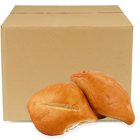 Bolillo Roll, Bulk Wholesale Case (144 ct.)