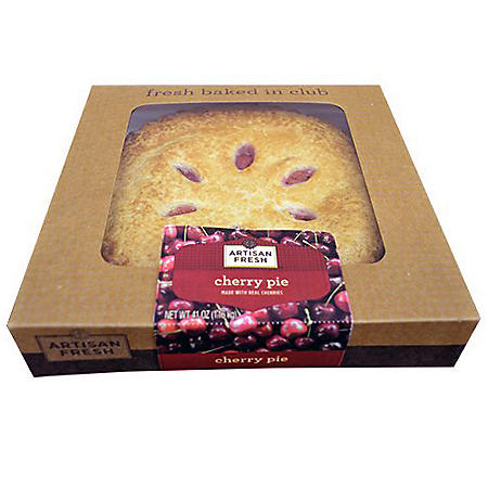 Artisan Fresh Cherry Pie - 12 Pies per case - 10""