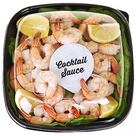 Member's Mark Shrimp Tray with Cocktail Sauce