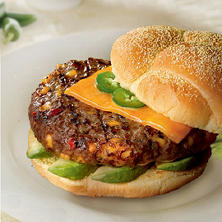 Member's Mark Cheddar Cheese & Jalapeno Angus Beef Patty (priced per pound)