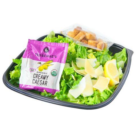 Member's Mark Caesar Salad With Dressing and Lemon