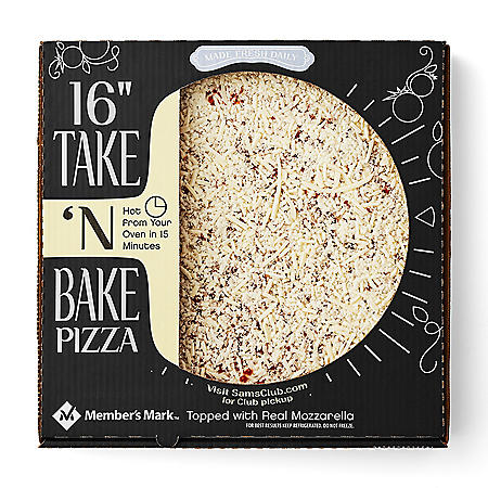 "Member's Mark 16"" Take 'N Bake Cheese Pizza"