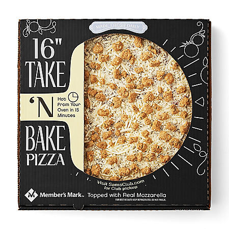 "Member's Mark 16"" Take 'N Bake Sausage Pizza"