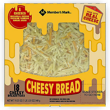 Member's Mark Cheesy Breadsticks (18 ct.)