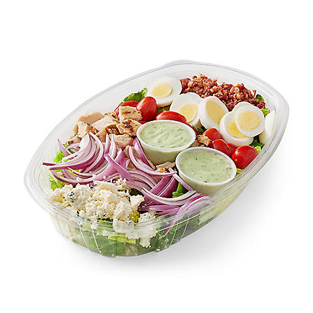 Member's Mark Cobb Salad with Chicken, Avocado Ranch Dressing (serves 4)