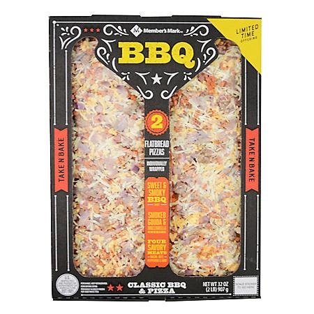 Member's Mark BBQ Flatbread Pizza (2 pk.)