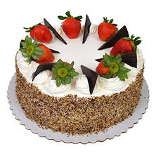 Sams Exclusive Members Mark 10 Tres Leches Style Cake With Fresh Strawberries