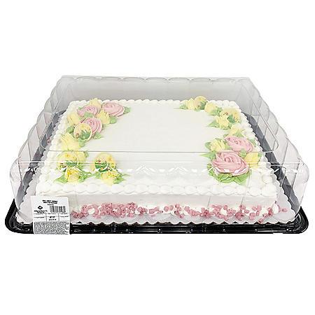 Member S Mark Spring Half Sheet Cake Sam S Club