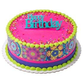 Members Mark 10 Round Cake