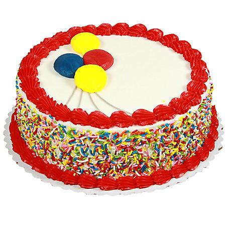 "Member's Mark 10"" Round Chocolate Cake with Vanilla Icing"