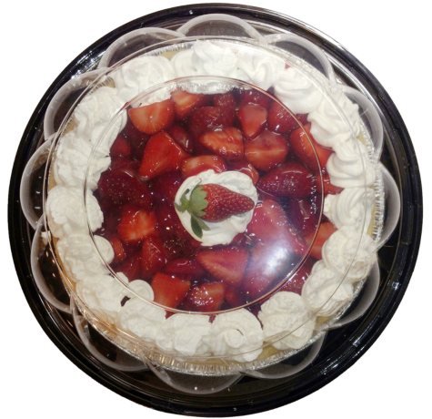 "Artisan Fresh 10"" Fresh Strawberry Pie"
