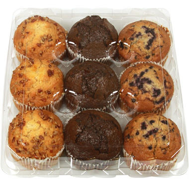 Member's Mark Variety Pack Muffins (9 ct.)