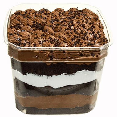 Triple Chocolate Scoop Cake